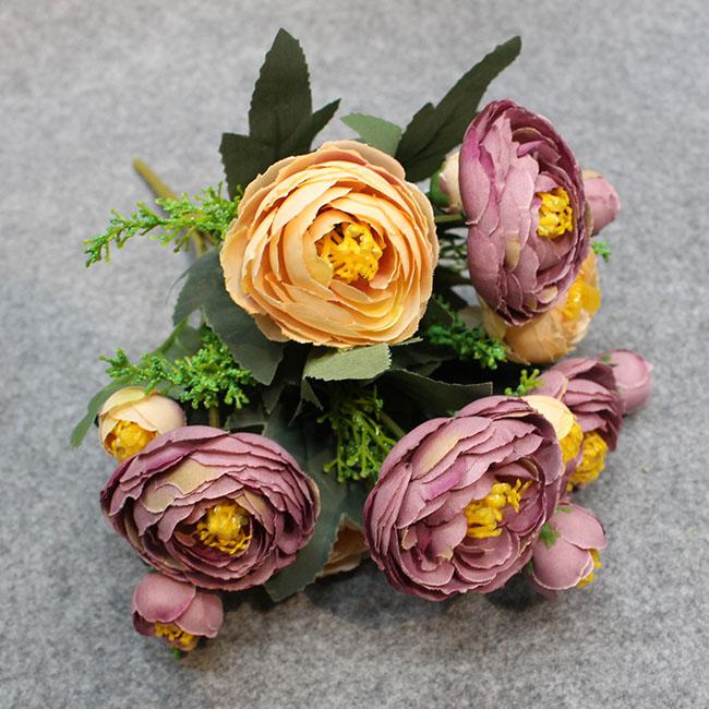 동백꽃부케(바이올렛A)