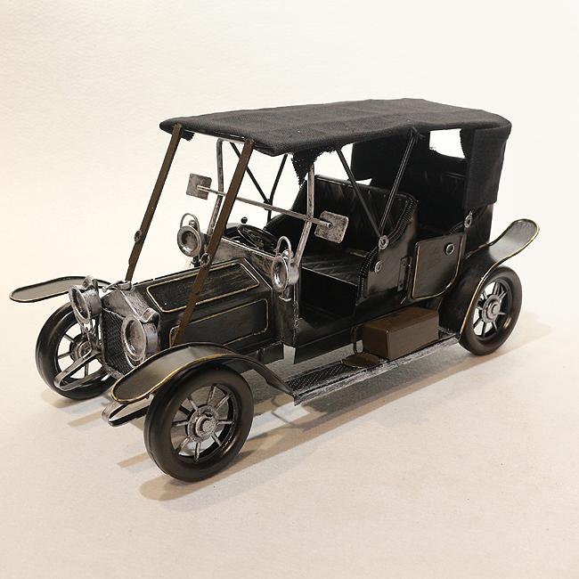 모형 철제 클래식 자동차(블랙)
