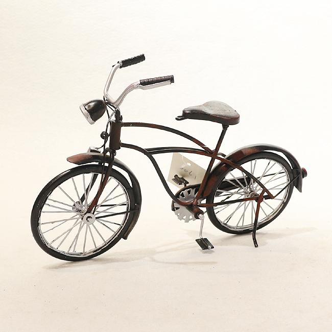 모형 철제 클래식 자전거(B)
