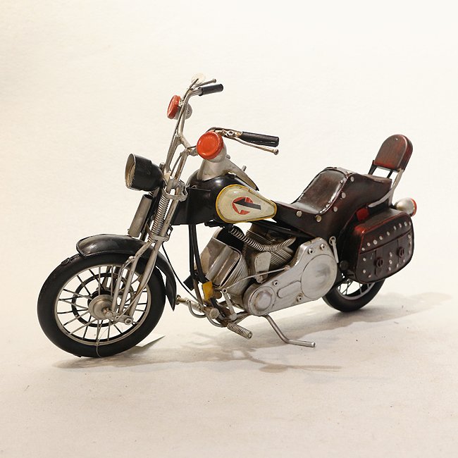 모형 철제 클래식 오토바이