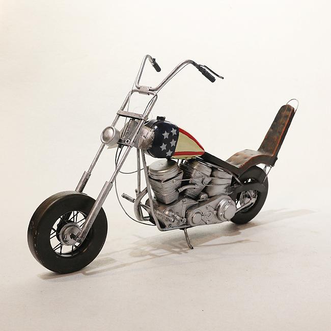 모형 철제 클래식 오토바이(A)