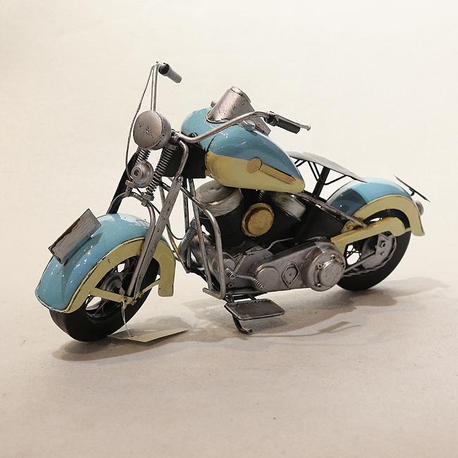 모형 철제 클래식 오토바이(B)