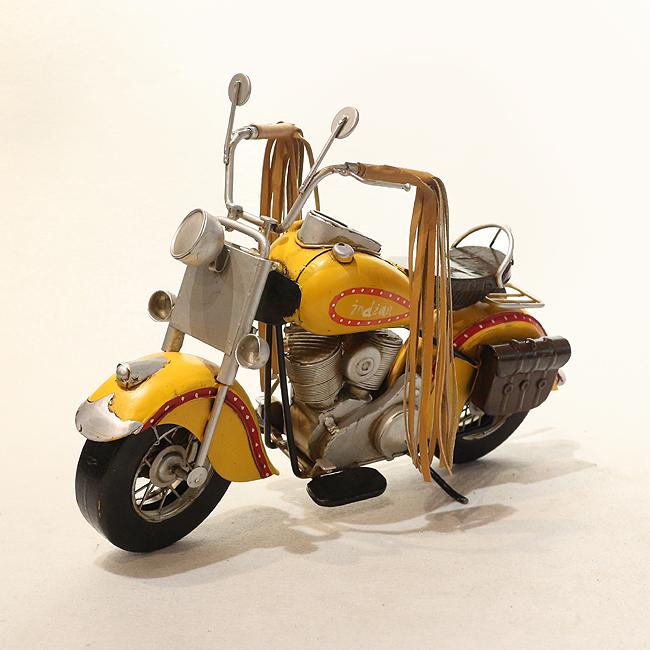 모형 철제 클래식 오토바이(C)