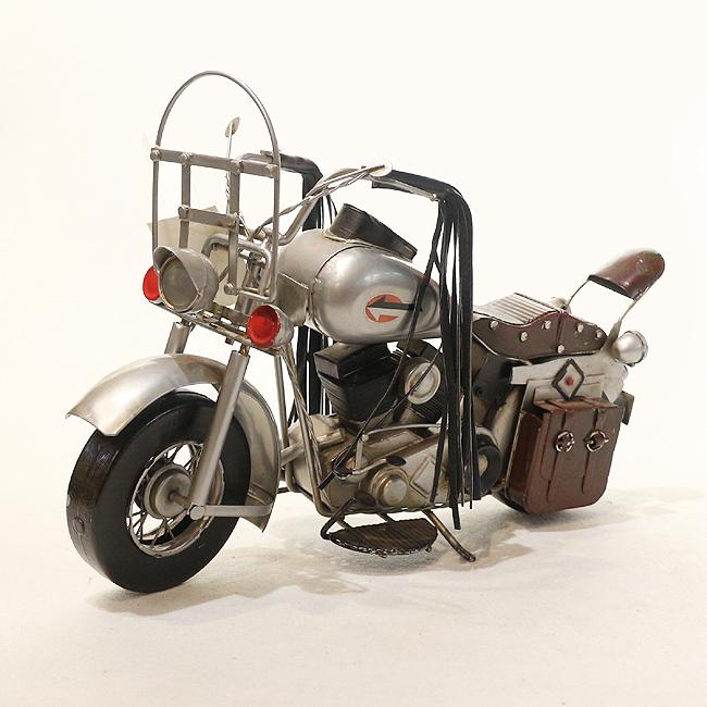 모형 철제 클래식 오토바이(E)