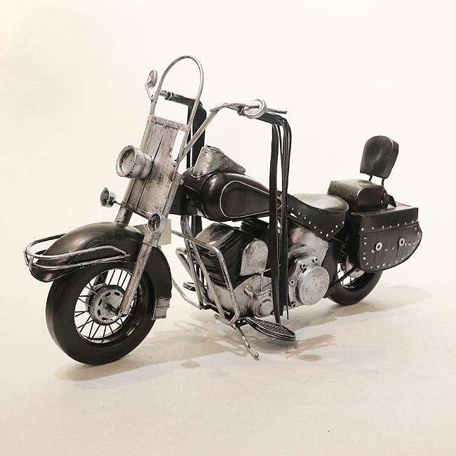 모형 철제 클래식 오토바이(G)
