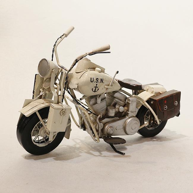 모형 철제 클래식 오토바이(H)