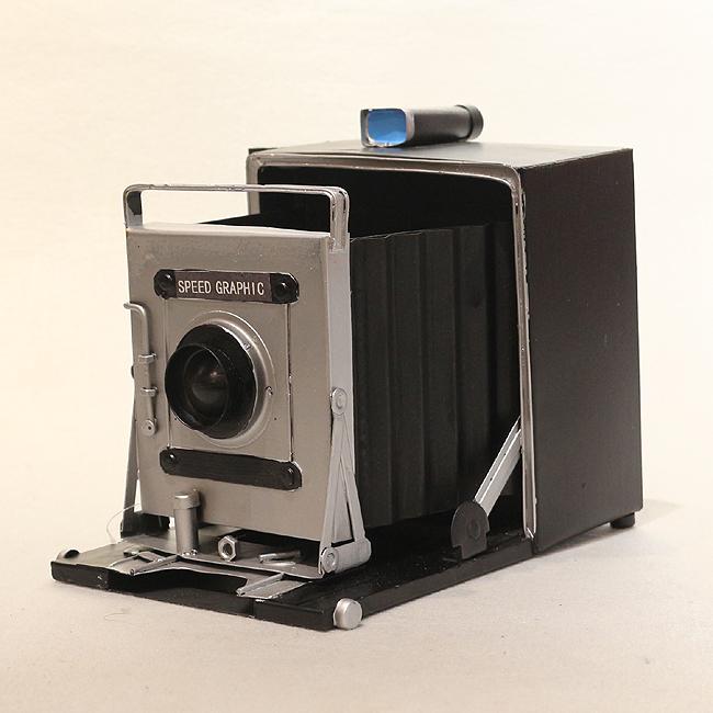 모형 철제 클래식 카메라(C)