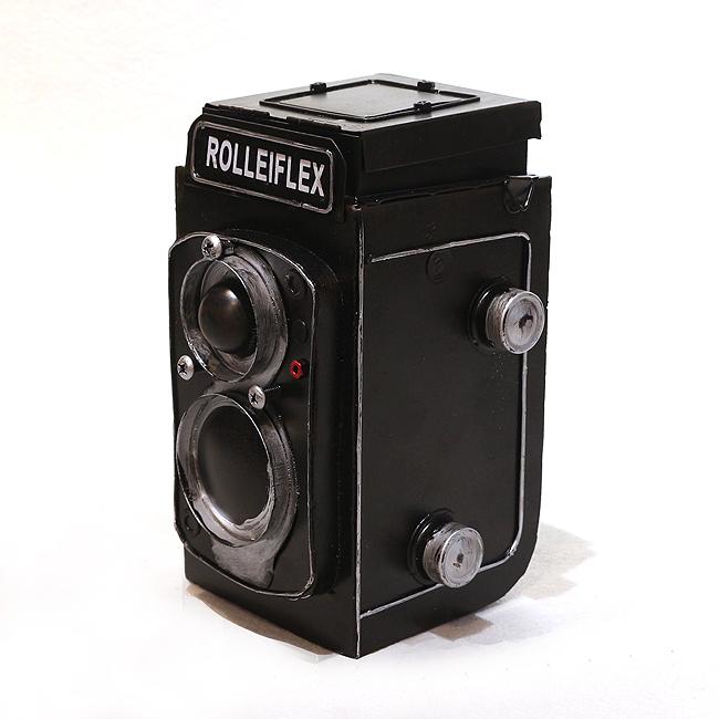 모형 철제 쌍렌즈 카메라(B)