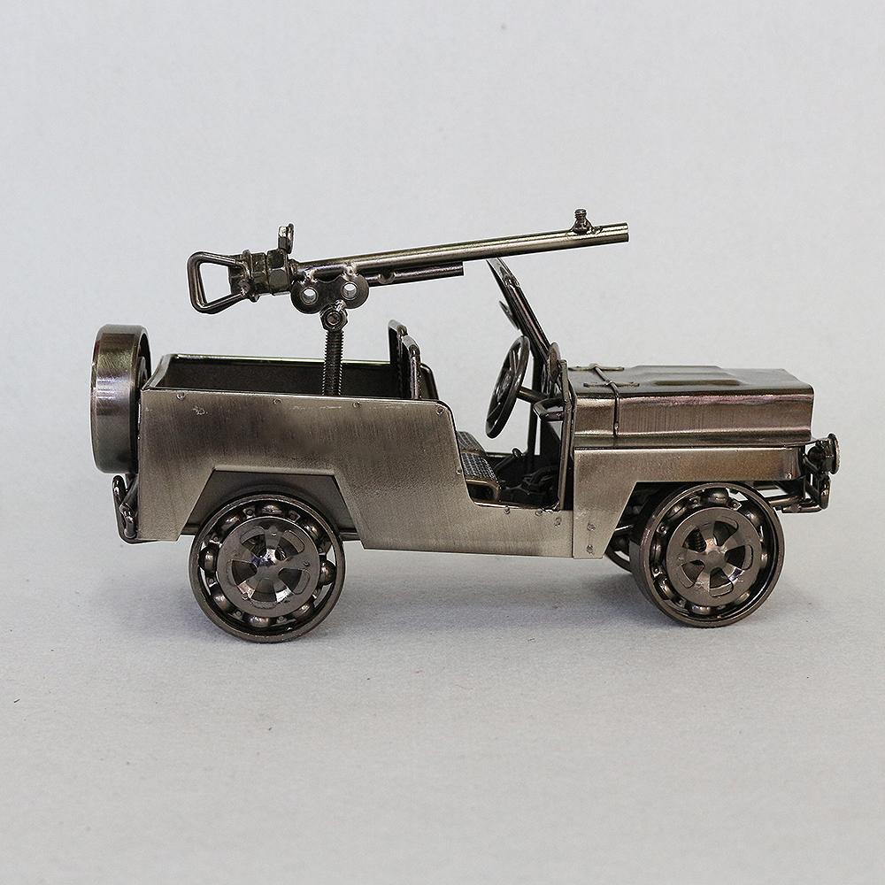 철제 사냥용 자동차 장식(블랙)