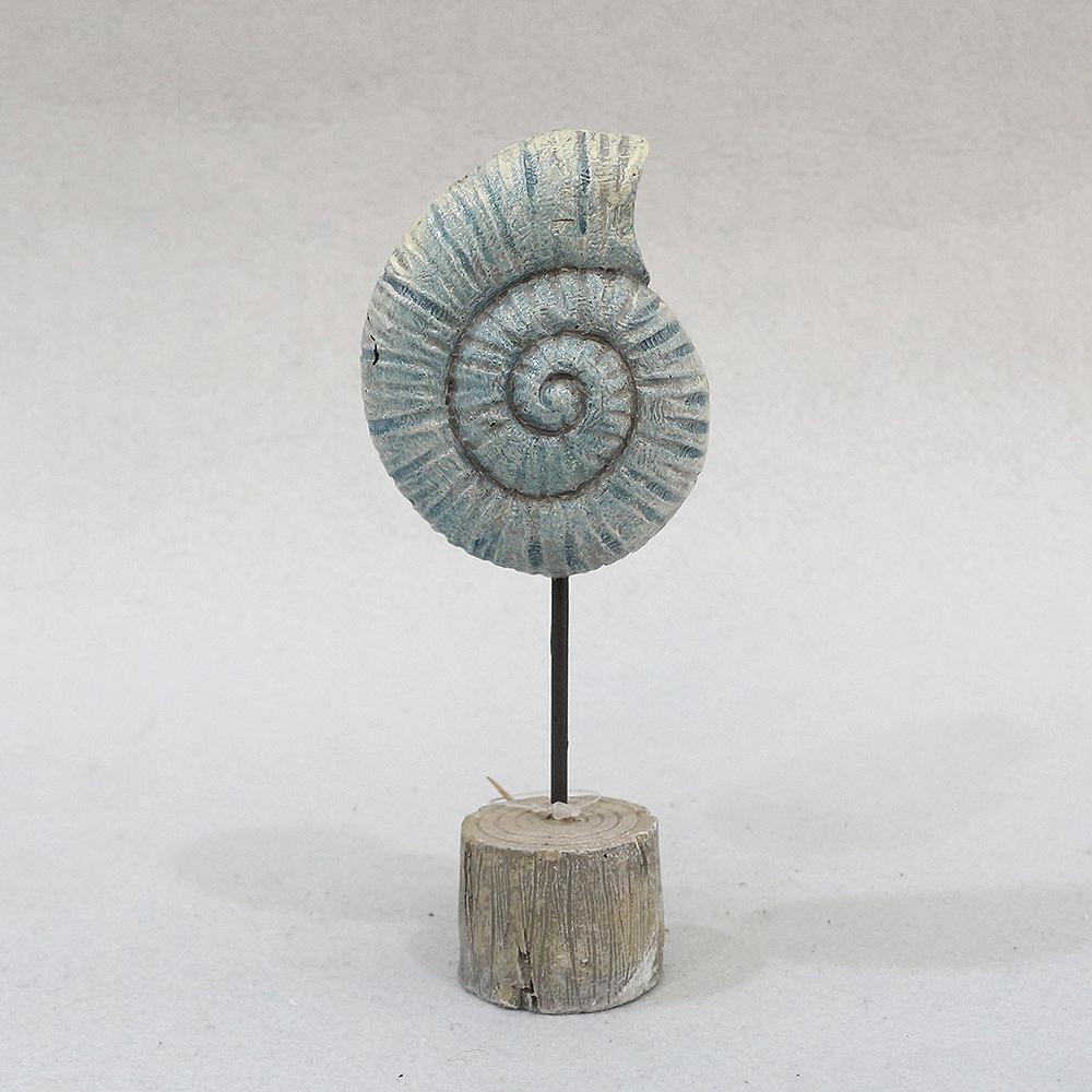 암모나이트 화석 조각상(小)