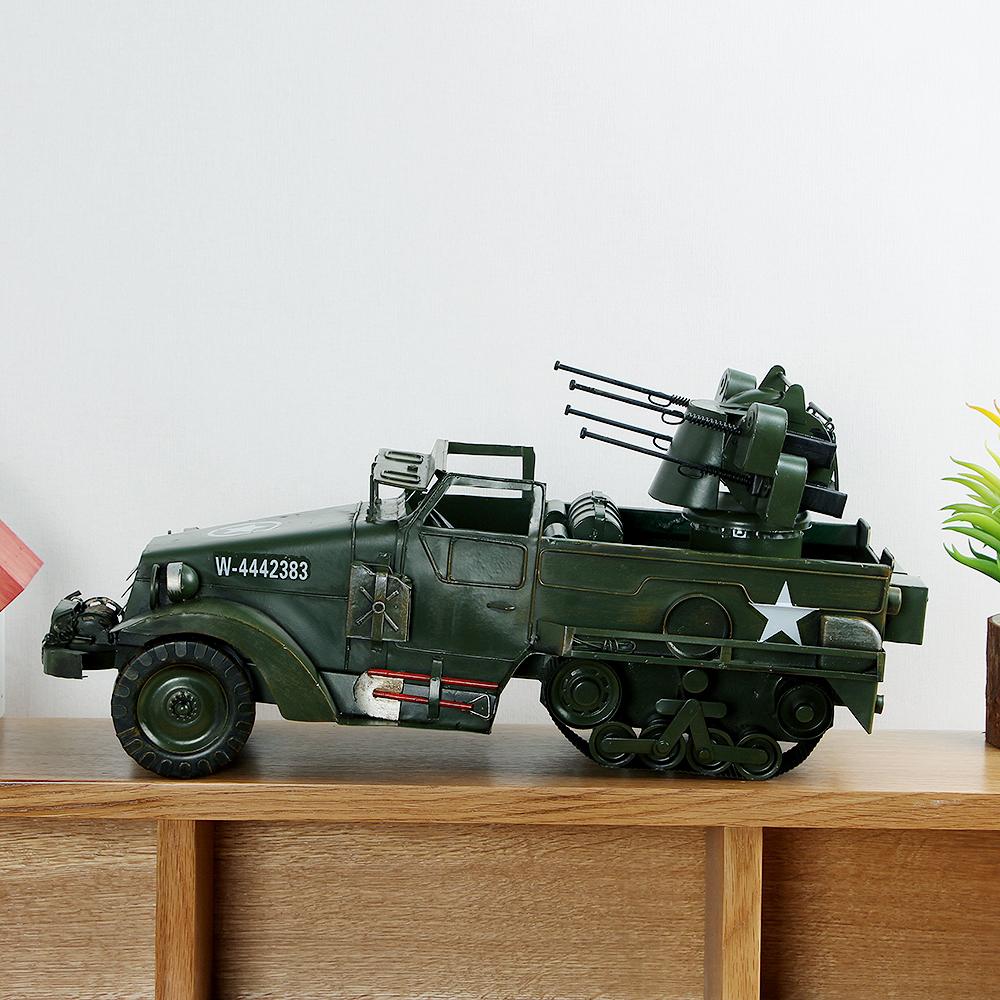 [아트피플-A269]철제 모형 군용 장갑차/엔틱인테리어