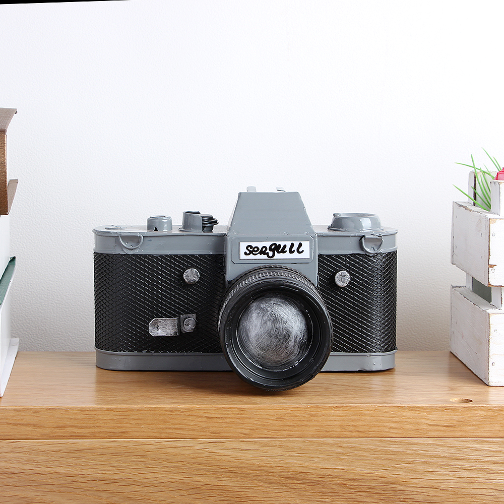 [아트피플-A265]철제 모형 엔틱 카메라/엔틱 인테리어